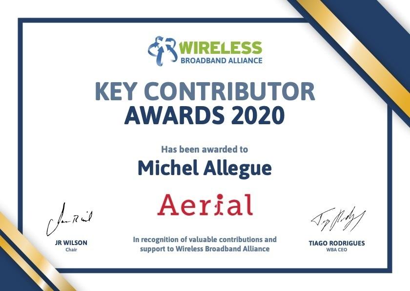 WBA Recognition Certificates 2020 Digital Michel Allegue